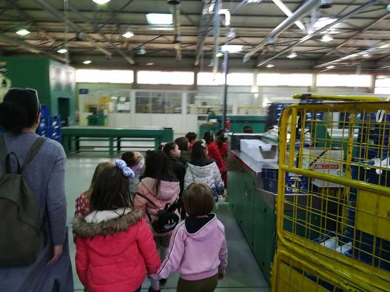 Επίσκεψη στο κέντρο διαλογής των ΕΛΤΑ